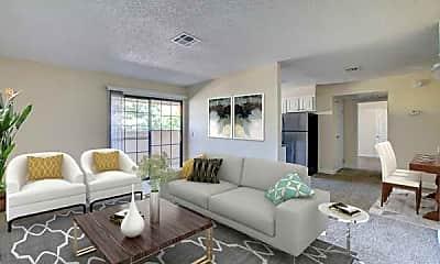 Living Room, Rancho Del Sol, 1