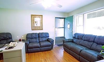 Living Room, Villa Brook Apartments, 1