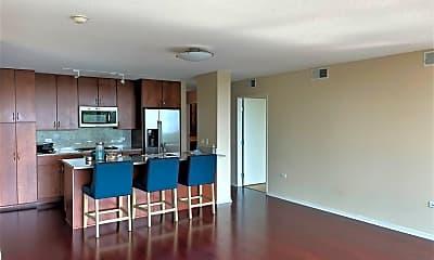 Living Room, 9715 Woods Dr 1208, 1