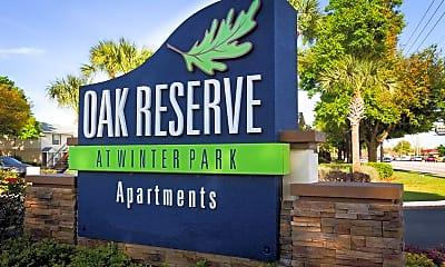 Community Signage, Oak Reserve At Winter Park, 2