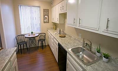 Kitchen, Deville Apartments, 1