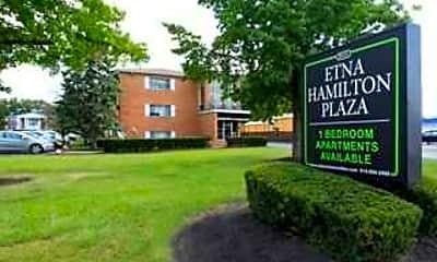 Community Signage, Etna Hamilton Plaza, 0