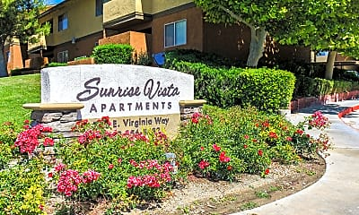 Community Signage, Sunrise Vista Apartments, 2