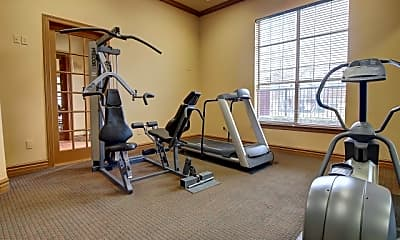 Fitness Weight Room, Renaissance Courts, 2