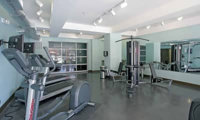Fitness Weight Room, Greenway at Fisher Park, 1