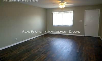 Living Room, 714 W 19Th St, 1