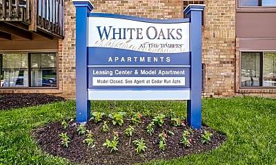 Community Signage, White Oaks, 2