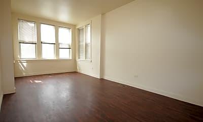 Living Room, 1109 S Troy St 1, 1
