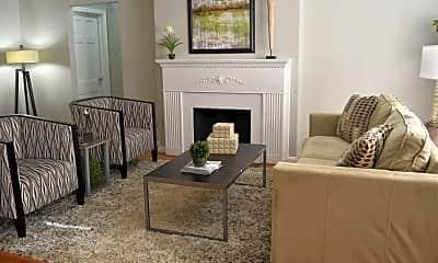 Living Room, Shaker Square Apartments, 2