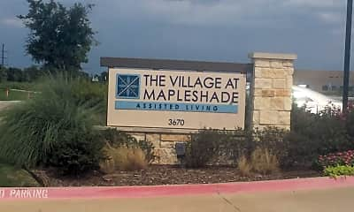 THE VILLAGE AT MAPLESHADE, 1