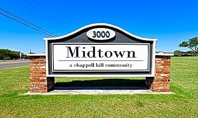 Community Signage, Midtown, 2