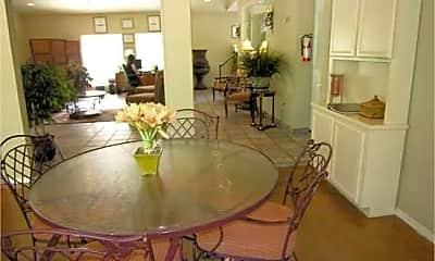 Dining Room, Seasons Apartments, 1