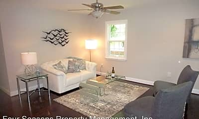 Living Room, 808 E 17th St, 1