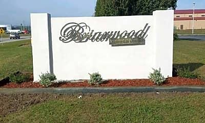 Community Signage, Briarwood Apts, 0