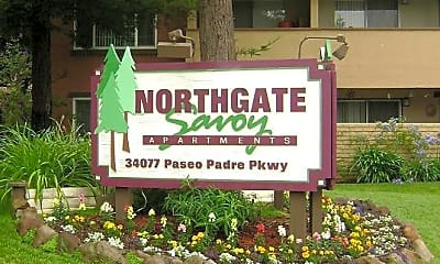 Community Signage, Northgate Savoy, 1