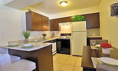 Kitchen, The View at North Mountain, 1