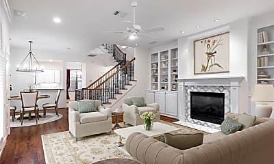 Living Room, 1826 Colquitt St A, 0