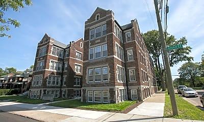Building, Boston Court Detroit, 0
