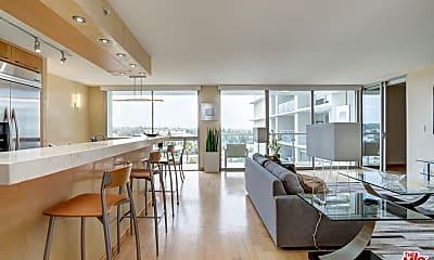 Living Room, 201 Ocean Ave 1105B, 1