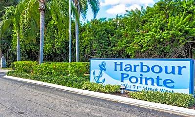 Community Signage, Harbour Pointe Apartment Homes, 2