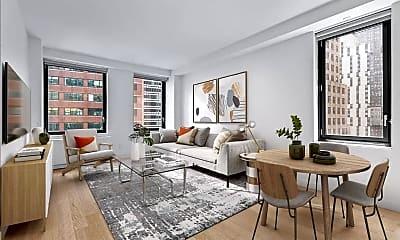 Living Room, 29 Cliff St 11-E, 0