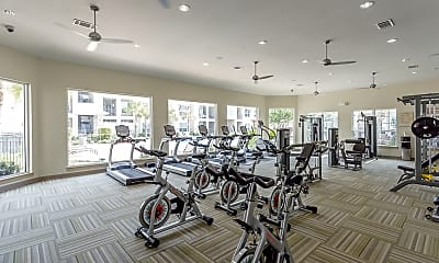 Fitness Weight Room, Fairfield Ranch, 2