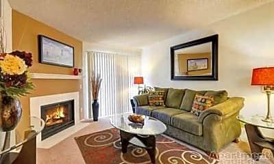 Living Room, Santee Villas, 0