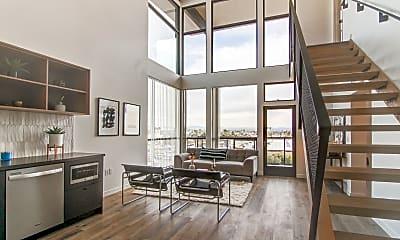 Living Room, The Jackson North Park, 1