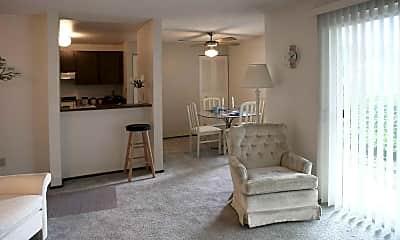 Living Room, The Maplewood Condominiums, 1
