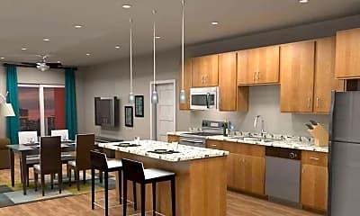 Kitchen, Charlotte Square, 2
