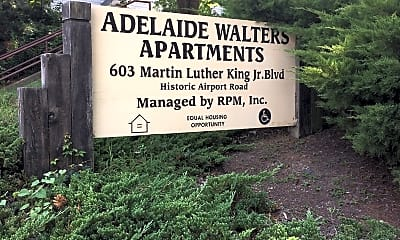 Adelaide Walters Apartments, 1