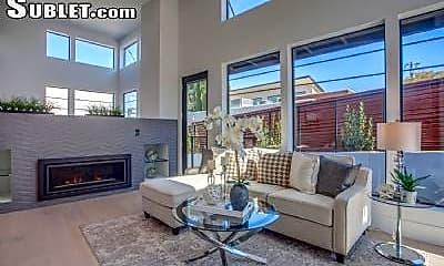 Living Room, 901 Loyola Dr, 1