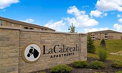 Community Signage, LaCabreah Apartments, 2