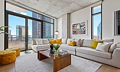 Living Room, 1801 N Pearl St 2812, 1