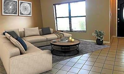 Living Room, 7605 Woodland Creek Ln, 2