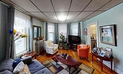 Living Room, 17 Breed St, 1