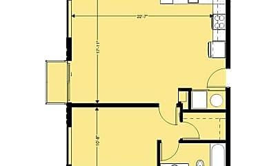 Living Room, 1130 N Harvey Ave, 2
