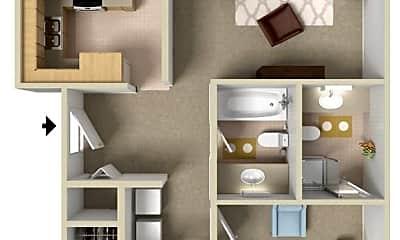 Bedroom, 23900 SE Stark St, 2