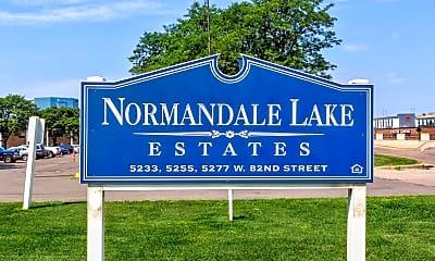 Community Signage, Normandale Lake Estates, 2