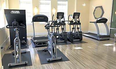 Fitness Weight Room, Keystone at Mebane Oaks, 1