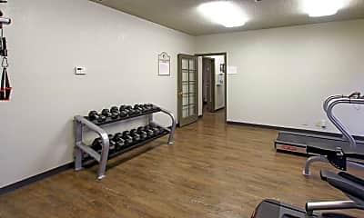 Fitness Weight Room, Toscana Villas, 2