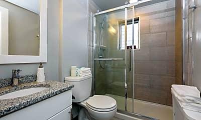 Bathroom, Plaza Apartments, 2