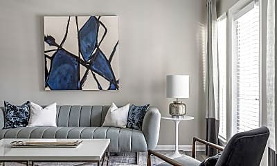 Living Room, Creekside Corners, 1
