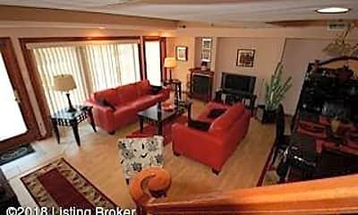 Living Room, 610 W Riverside Dr, 1