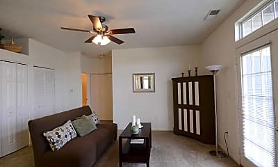 Living Room, Bayshore Apartments, 1
