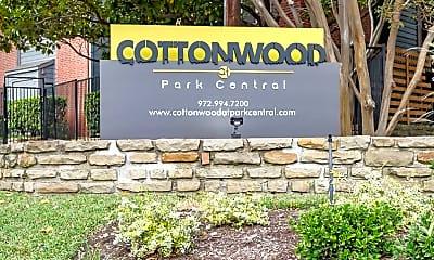 Community Signage, Cottonwood at Park Central, 2