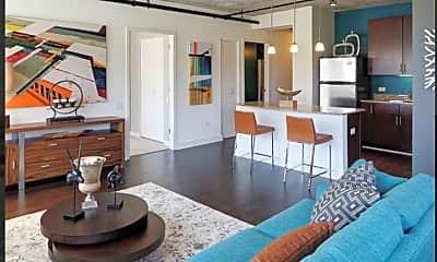 Living Room, 902 S Clark St, 1