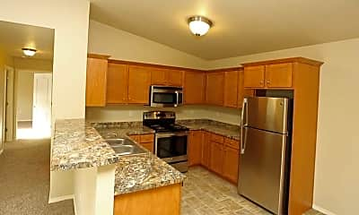 Kitchen, Rock Ridge Apartments, 2