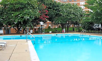 Pool, Dominion Towers Apartments, 1