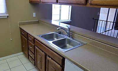 Kitchen, 1428 Oak Pl - #C, 1